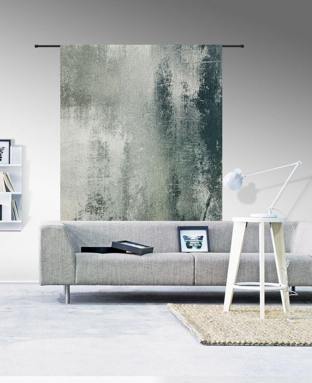 wandkleed grunge. Black Bedroom Furniture Sets. Home Design Ideas