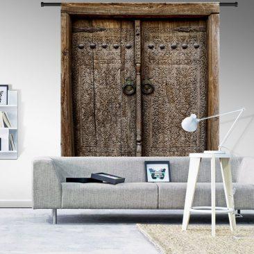 Wandkleed Old Doors