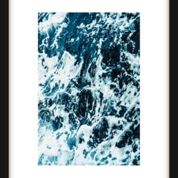 Art Print Ocean Waves