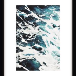 Art Print Blue Wave Art