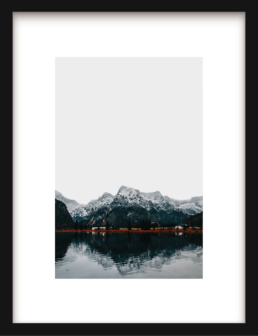 Art Print Nordic Mountain