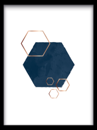 Hexagon overlap