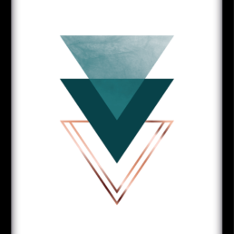 Art Print Triangle crush
