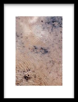 Art Print BLUE COVERED SAND