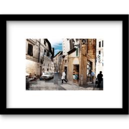 Art Print Italiaans straatje