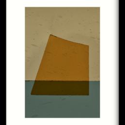 Art Print Geen beige