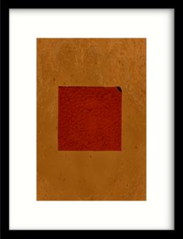 Art Print Geen rood