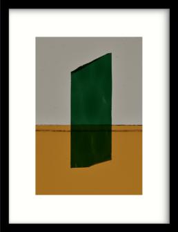 Art Print geen mosgroen