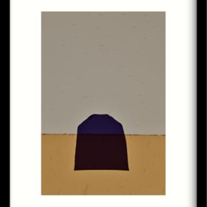Art Print Geen paars