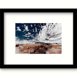 Art Print Zoutvlakte Australie