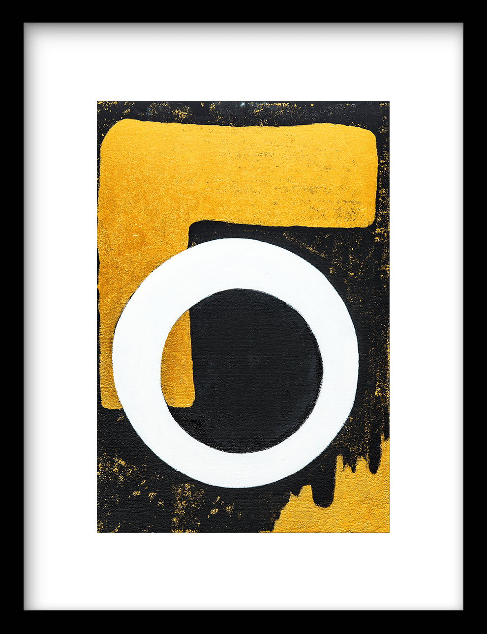 Wanddecoratie Art Print Circle