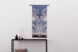 Wandkleed Blue Denim