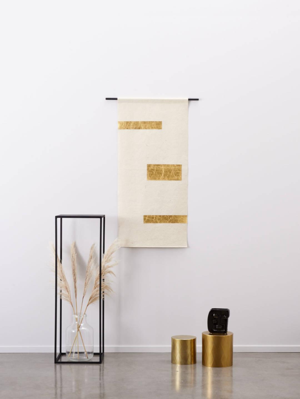 Wandkleed Piñatex® Tropical Gold